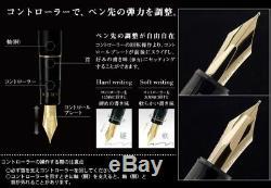 Stylo-plume Pointe De Stylo-plume Medium Justus 95 De Pilot - Noir Fj-3mr-sb-m