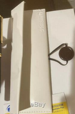 Utilisé Pelikan M1000 Noir 18k F Nib