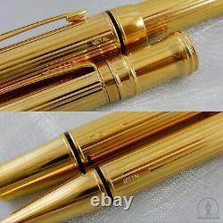 Very Rare Parker Duofold Presidential Specimen Ballpoint & Fountain Pen Royaume-uni 1992