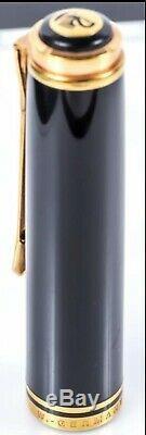 Vintage Double Chick Pelikan M800 Fountain Pen Noir-vert Avec 18 K M-nib