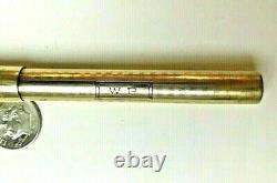 Vintage Mabie Todd Swan 14k Solid Gold Fountain Pen Jan 14k 1915 Avec Todd Plume