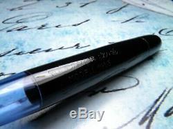 Vintage Matador Cliquez Fountain Pen-noire Piston De Remplissage-14k 1950 Nib-allemagne