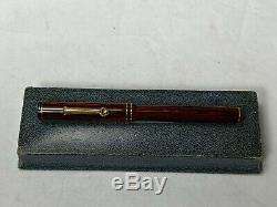 Vintage Nos Wahl Eversharp Similibois Fountain Pen Avec Prix Disque Flex Nib Nouveau