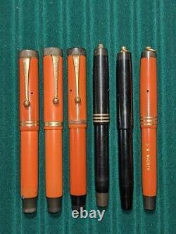 Vintage Parker Duofold Fountain Pen Lot Pour Pièces/restauration