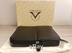Visconti Dreamtouch Cuir 6 Pen Pouch / Case, Noir