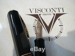 Visconti Opera Maître Australis Noir Le Stylo Plume 23kt Pd F Nib Mib