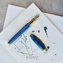 Visconti Van Gogh Champ De Blé Avec Crows Fountain Pen