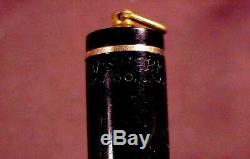 Wahl Eversharp Gold Seal Ring Top, Gft, Lf, Noir Jet, Collecteur Nib, C1930