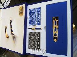 Waterman Edson Boucheron Fountain Pen Limited Edition In Box 1706/3741